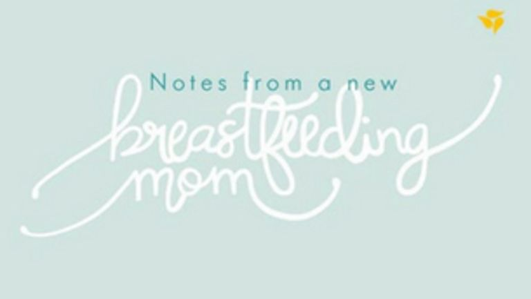 Notes from a new breastfeeding mom