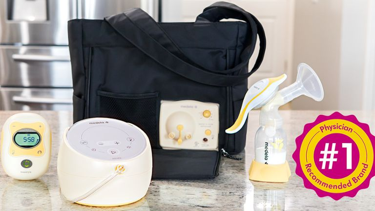 Variety of Medela Breast Pumps: Sonata, Freestyle, and Harmony