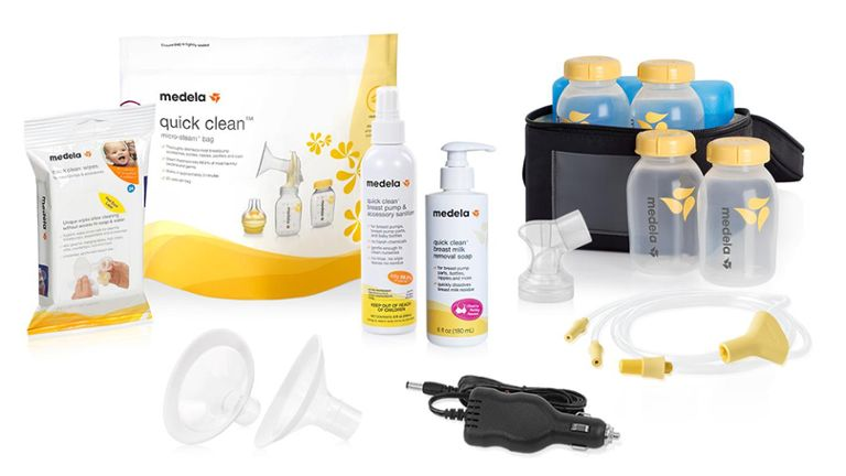 medela quick clean products breast milk storage set and pump accessories