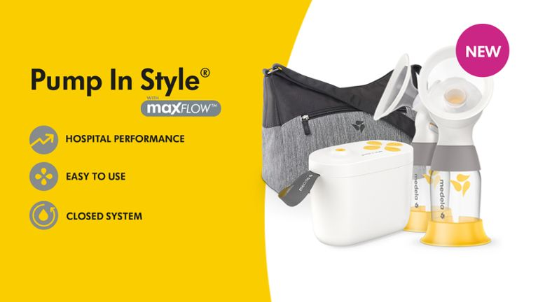 Pump In Style with MaxFlow Hero Banner2